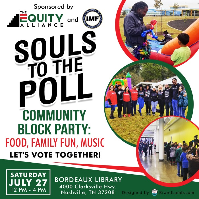 Souls to the Polls flier